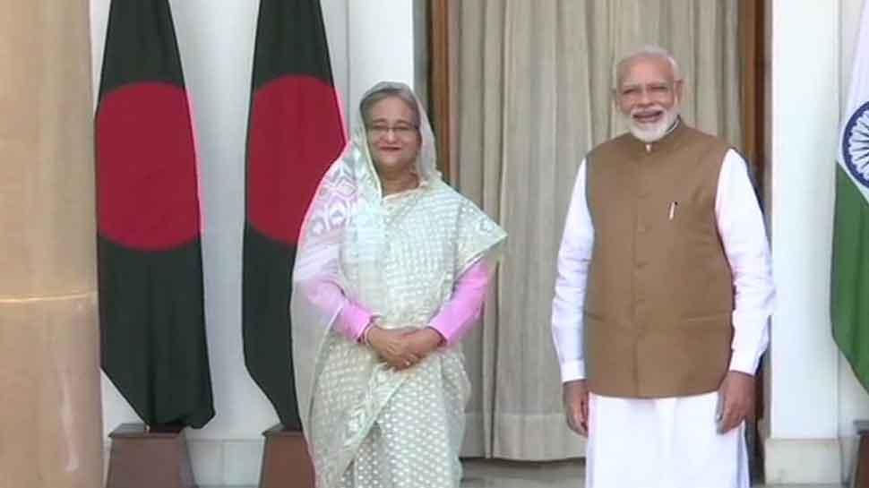 Bangladesh leader Sheikh Hasina meets PM Narendra Modi, key pacts to be signed