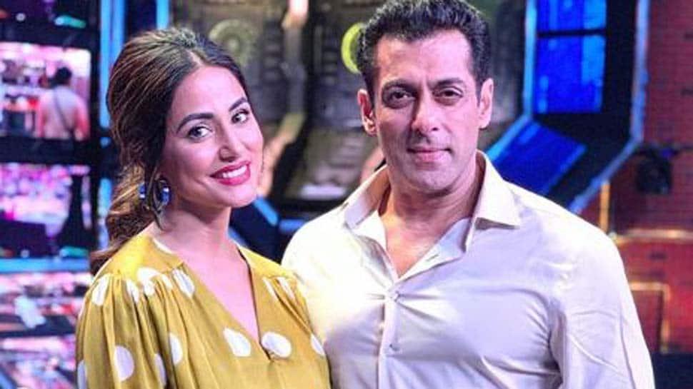 Bigg Boss 13: Hina Khan shoots Weekend Ka Vaar episode with Salman Khan