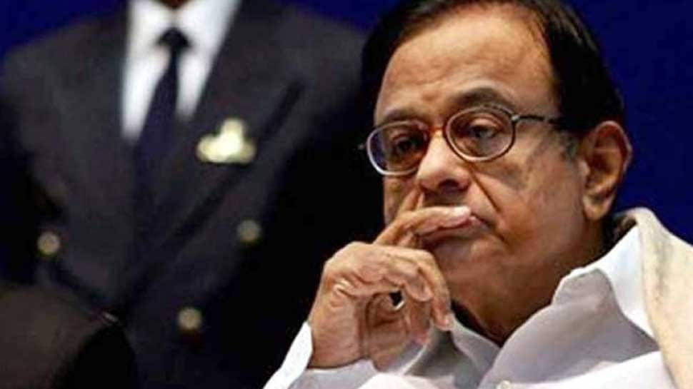 P Chidambaram referred to AIIMS for medical checkup after complaining of stomach pain