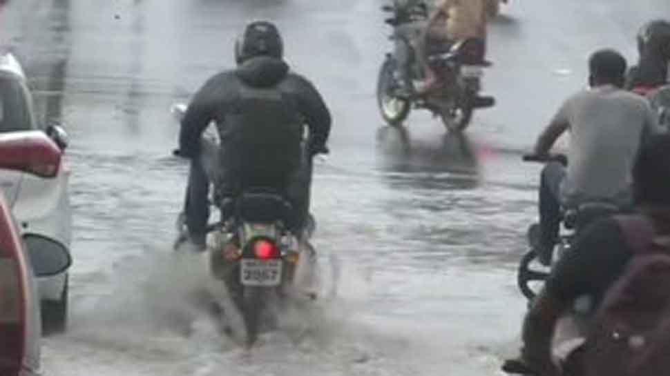 Madhya Pradesh: Heavy rains lash Bhopal, leads to water-logging