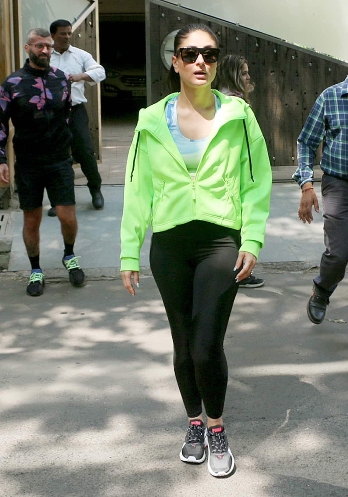 Kareena Kapoor Khan spotted in Mumbai