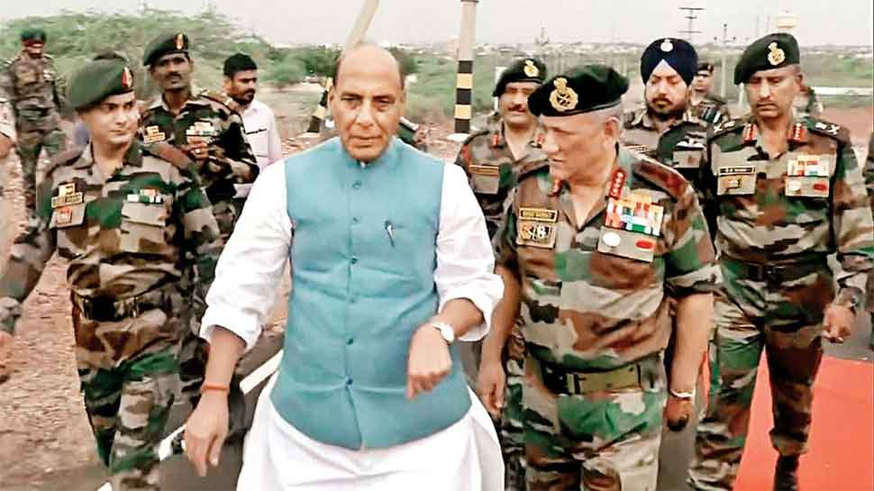 Rajnath Singh approves four-fold increase in monetary assistance to families of battle casualties