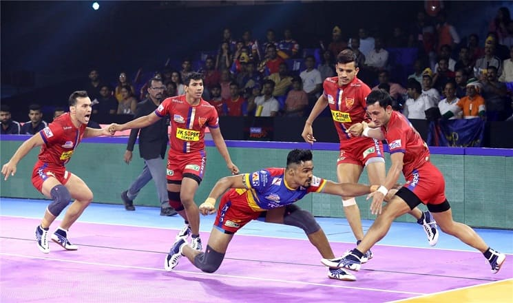 Pro Kabaddi League: UP Yoddha thrash Dabang Delhi 50-33