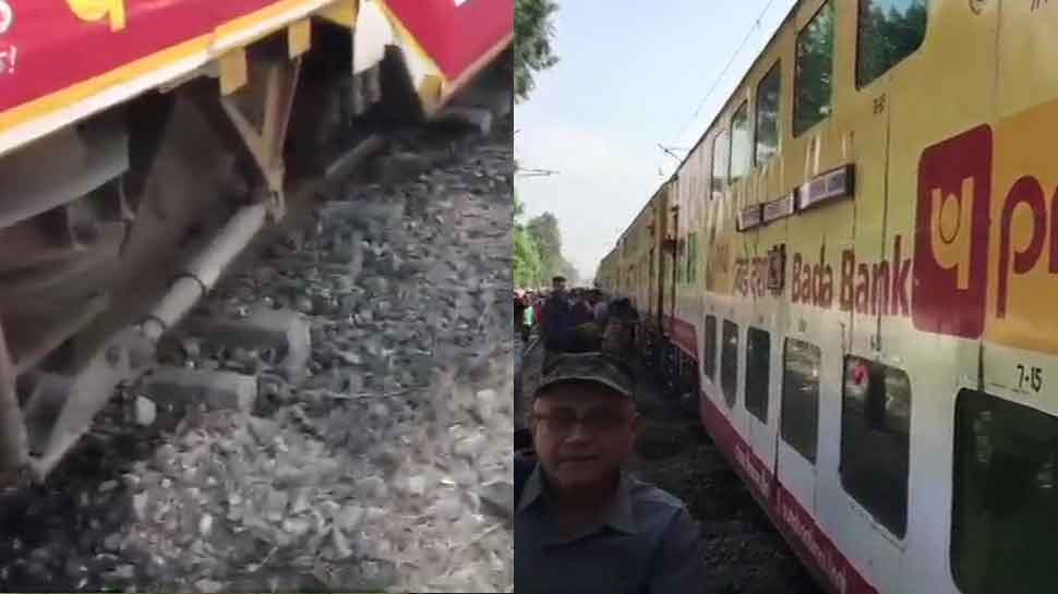 Two coaches of Lucknow-Delhi double-decker train derail in UP, no injuries reported