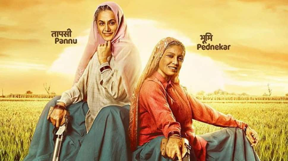 Bhumi Pednekar-Taapsee Pannu thank Vice President M. Venkaiah Naidu for appreciating their work in 'Saand ki Aankh'