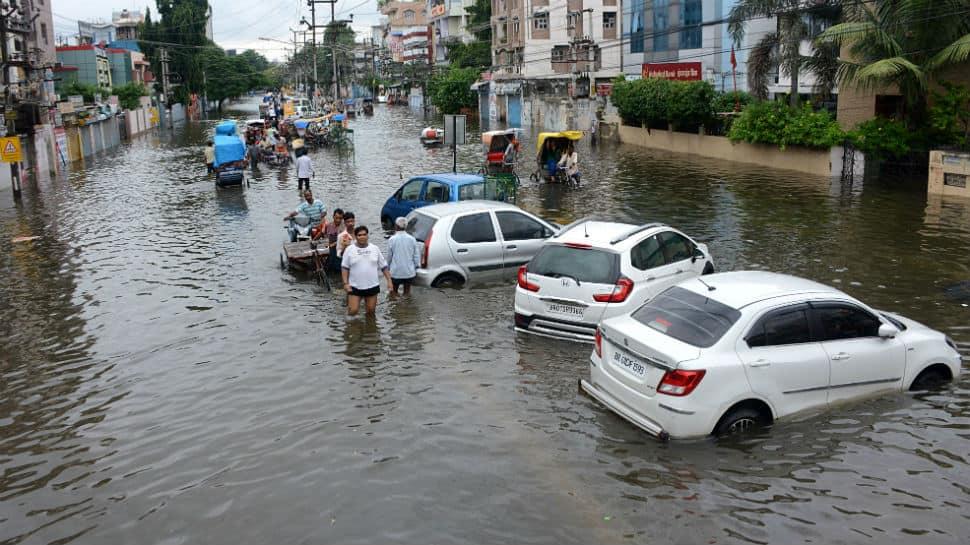 RJD leader Tejashwi Yadav slams Bihar CM Nitish Kumar over Patna floods, seeks his resignation