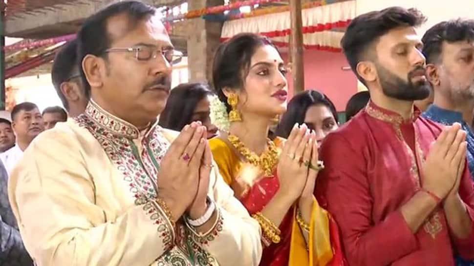 Cleric slams TMC MP Nusrat Jahan for worshipping Goddess Durga, calls it 'anti-Islamic'