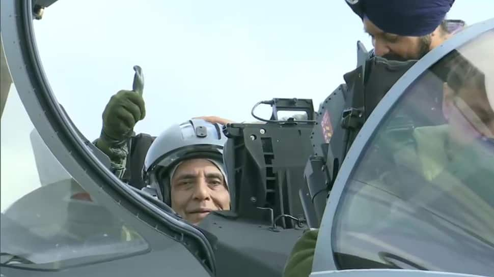 Rajnath Singh creates history, becomes first Defence Minister to fly Rafale jet - Watch