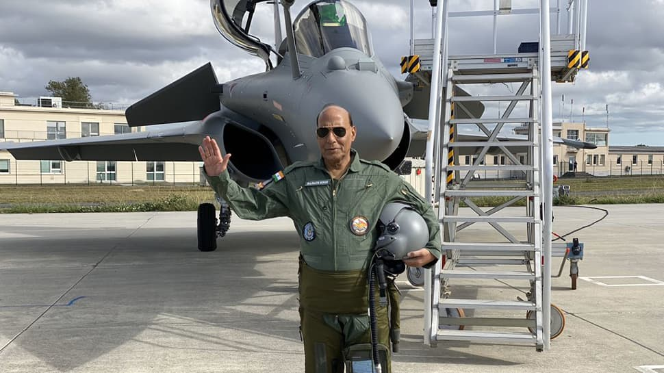 Rafale fighter jet a deterrent, not a sign of aggression against anyone: Rajnath Singh