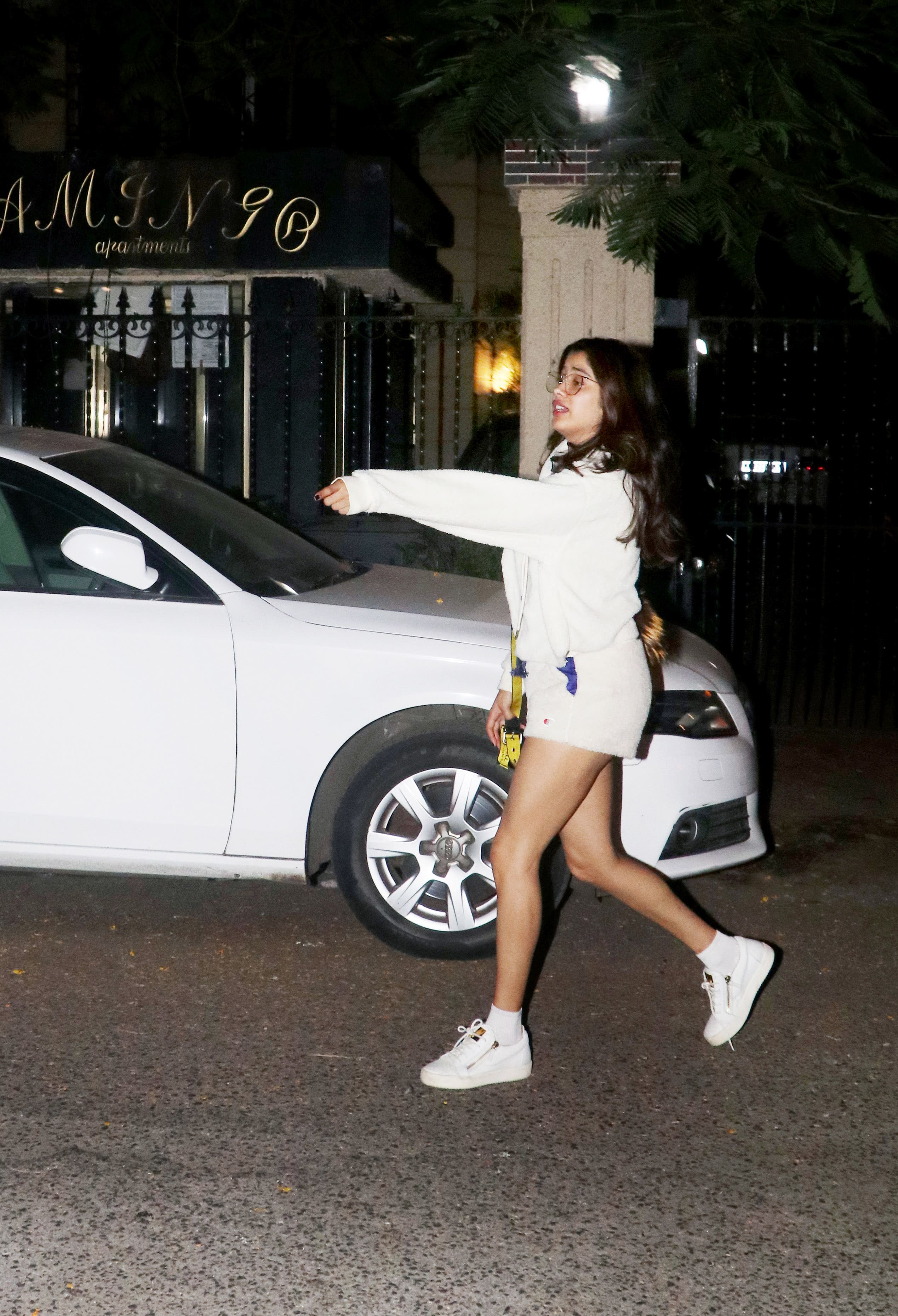 Janhvi Kapoor is a vision in white