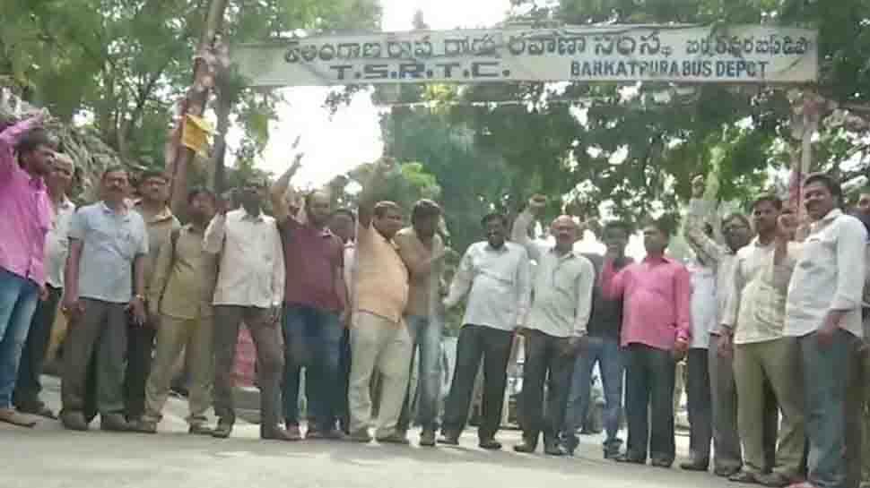 Telangana opposition backs RTC employees, mull shutdown