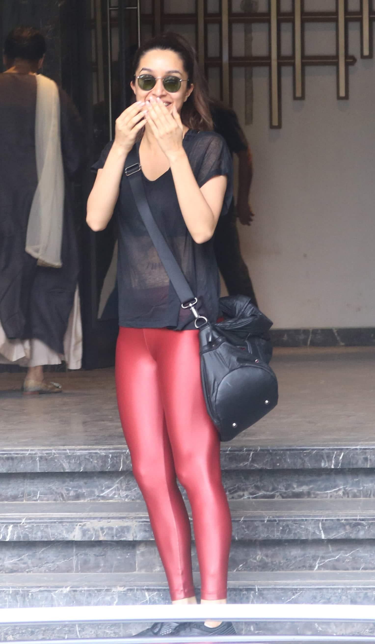 Shraddha Kapoor spotted in Mumbai