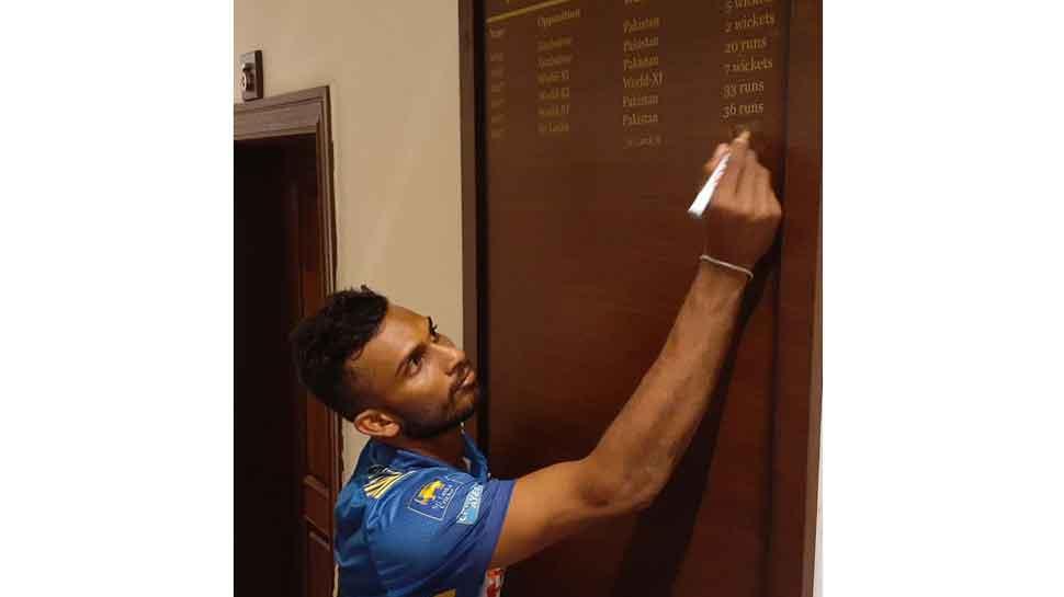 Sri Lanka's Dasun Shanaka equals MS Dhoni's captaincy record against Pakistan
