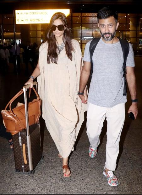 Sonam Kapoor with hubby