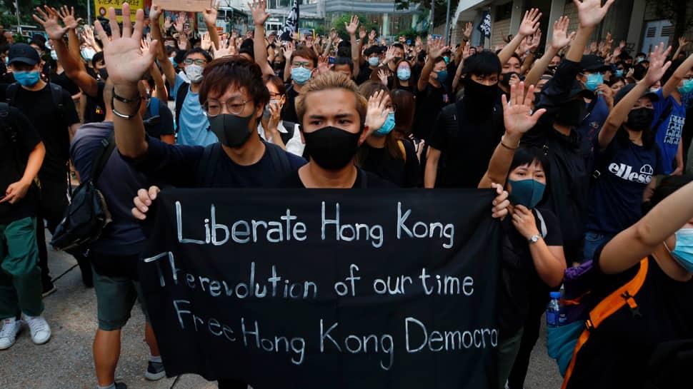 Hong Kong shopping malls, metro close early ahead of protests