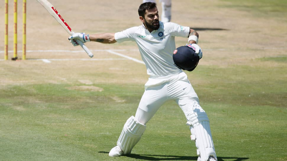 Virat Kohli becomes first Indian batsman to score seven double centuries in Tests
