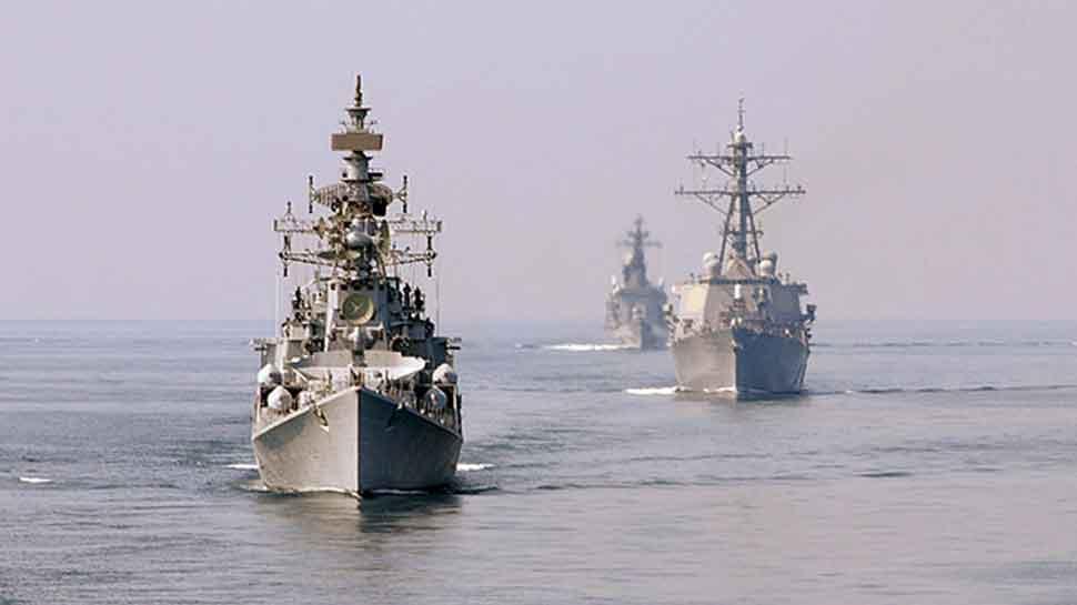 India-Bangladesh navies undertake coordinated patrol in North Bay of Bengal