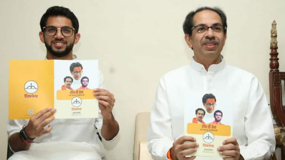 Maharashtra: Shiv Sena promises rebate in power tariff, subsidised meals in election manifesto