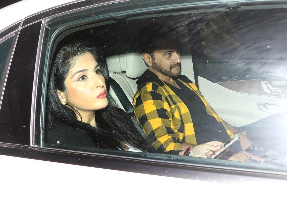 Sanjay and Maheep Kapoor