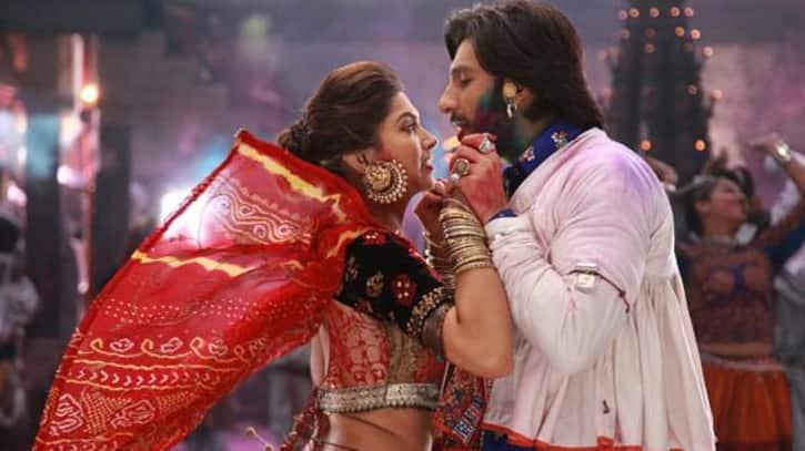 Ranveer Singh got his eyes on Deepika Padukone and this viral 'Ram Leela' pic says it all!