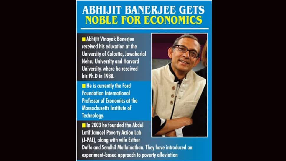 Notable contributions: PM Modi congratulates Abhijit Banerjee for winning 2019 Nobel Prize in Economics