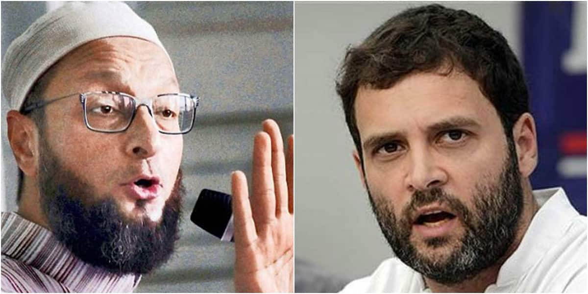 Rahul Gandhi is a captain who walked away on seeing Congress ship sink: Asaduddin Owaisi