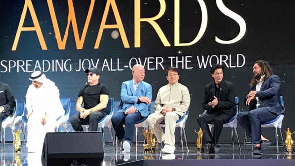 Shah Rukh Khan honoured at Joy Forum19 in Riyadh