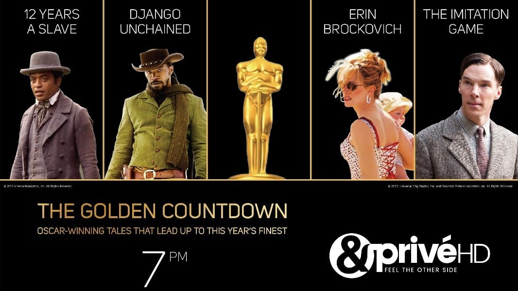 &PrivéHD presents a collection of Academy Award-winning tales in 'The Golden Countdown' series