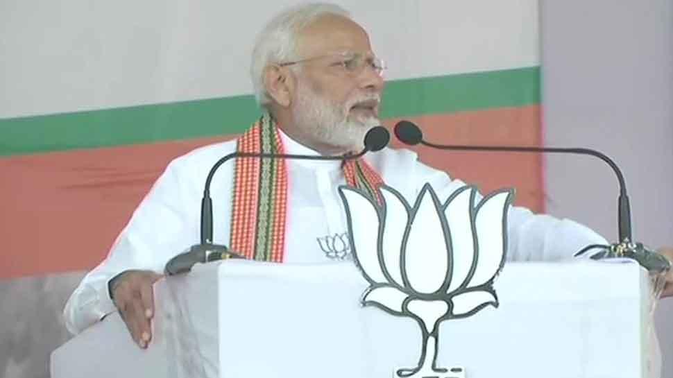 Doob maro: PM Narendra Modi slams those not linking Centre's Kashmir move with Maharashtra assembly polls