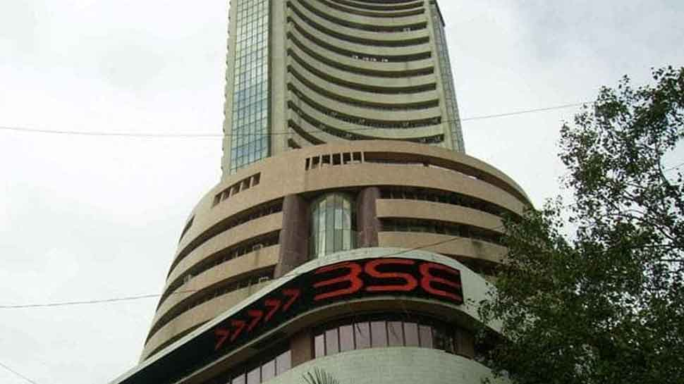 Sensex rises over 100 points, Nifty slips below 11,450 as markets open