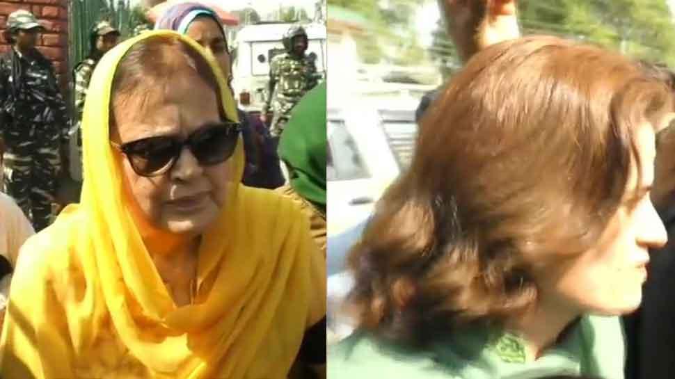 NC president Farooq Abdullah's sister Suraiya, daughter Safiya released on bail