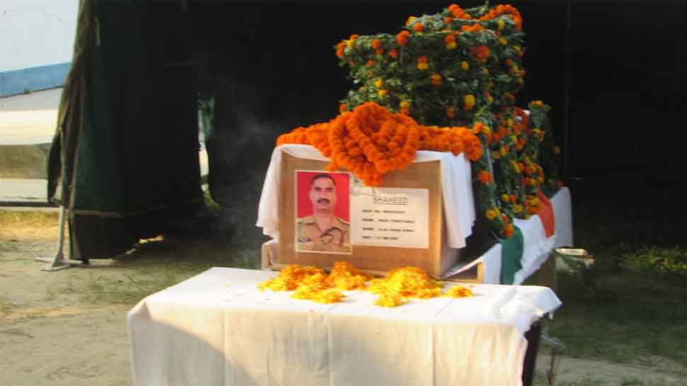 Wreath laying ceremony held for BSF jawan who was killed in firing by Border Guards Bangladesh