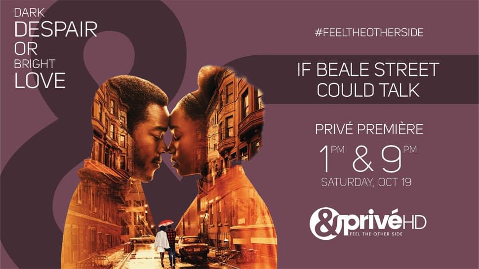 &PrivéHD premieres 'If Beale Street Could Talk'
