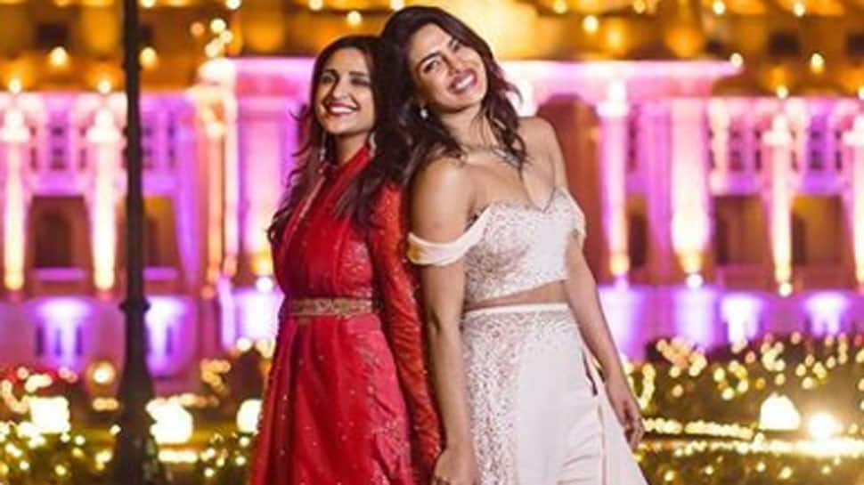 Priyanka Chopra, Parineeti enter the 'Frozen' world