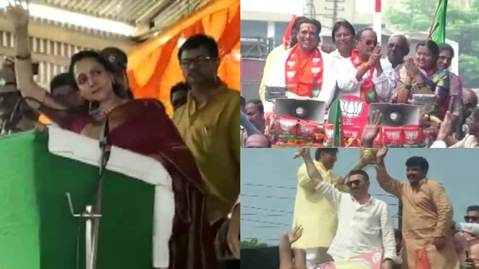 B-Town actors campaign for BJP candidates ahead of assembly elections in Haryana and Maharastra