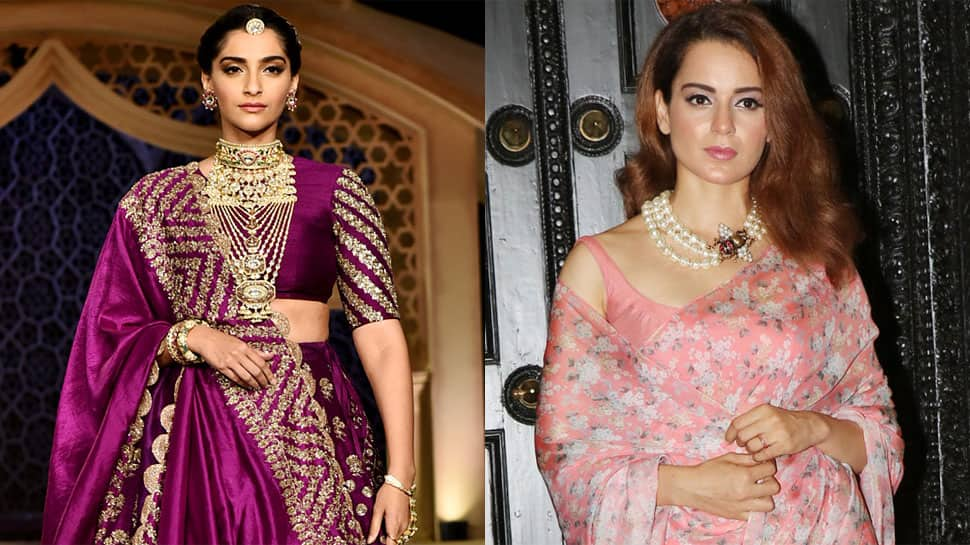 Sonam Kapoor-Kangana Ranaut share frame for the first time post #MeToo spat