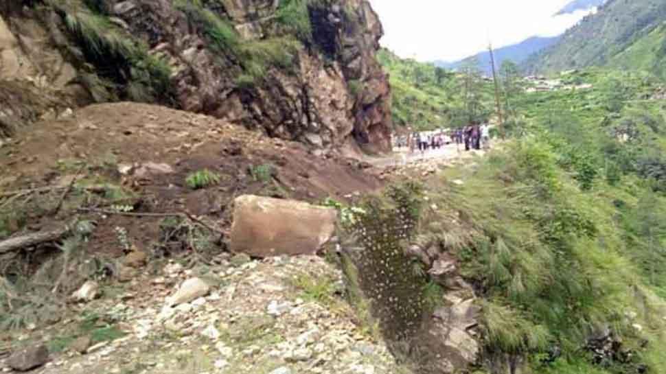 Landslide in Uttarakhand's Rudraprayag; three injured, two missing