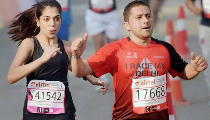 Indian athletes L Suriya, Srinu Bugatha eye bonus prizes at Delhi Half Marathon