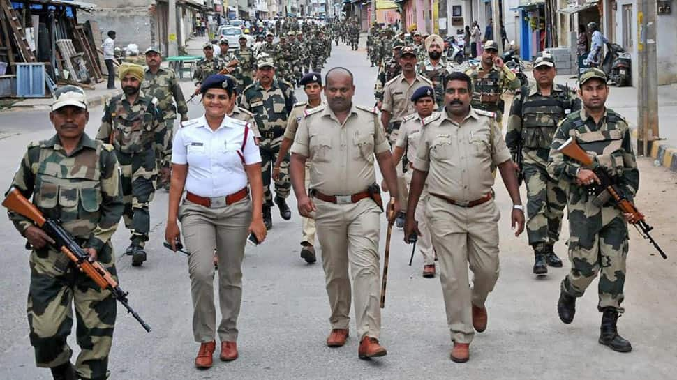 Security beefed up as Maharashtra, Haryana go to polls on Monday