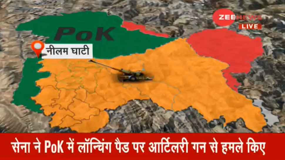 Indian Army attacks terrorist camps in PoK; 4 launch pads destroyed, many terrorists killed