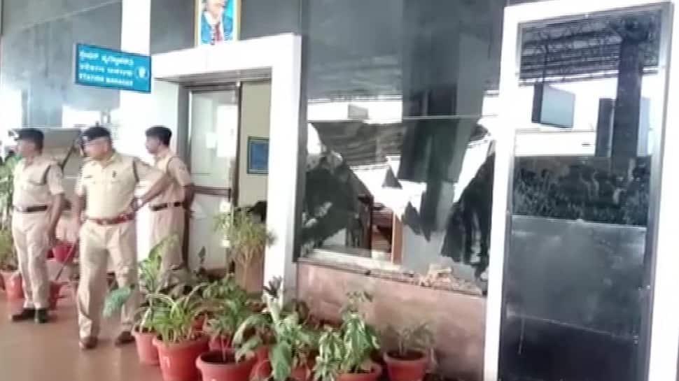 One injured as suspicious box explodes in Hubballi railway station of Karnataka