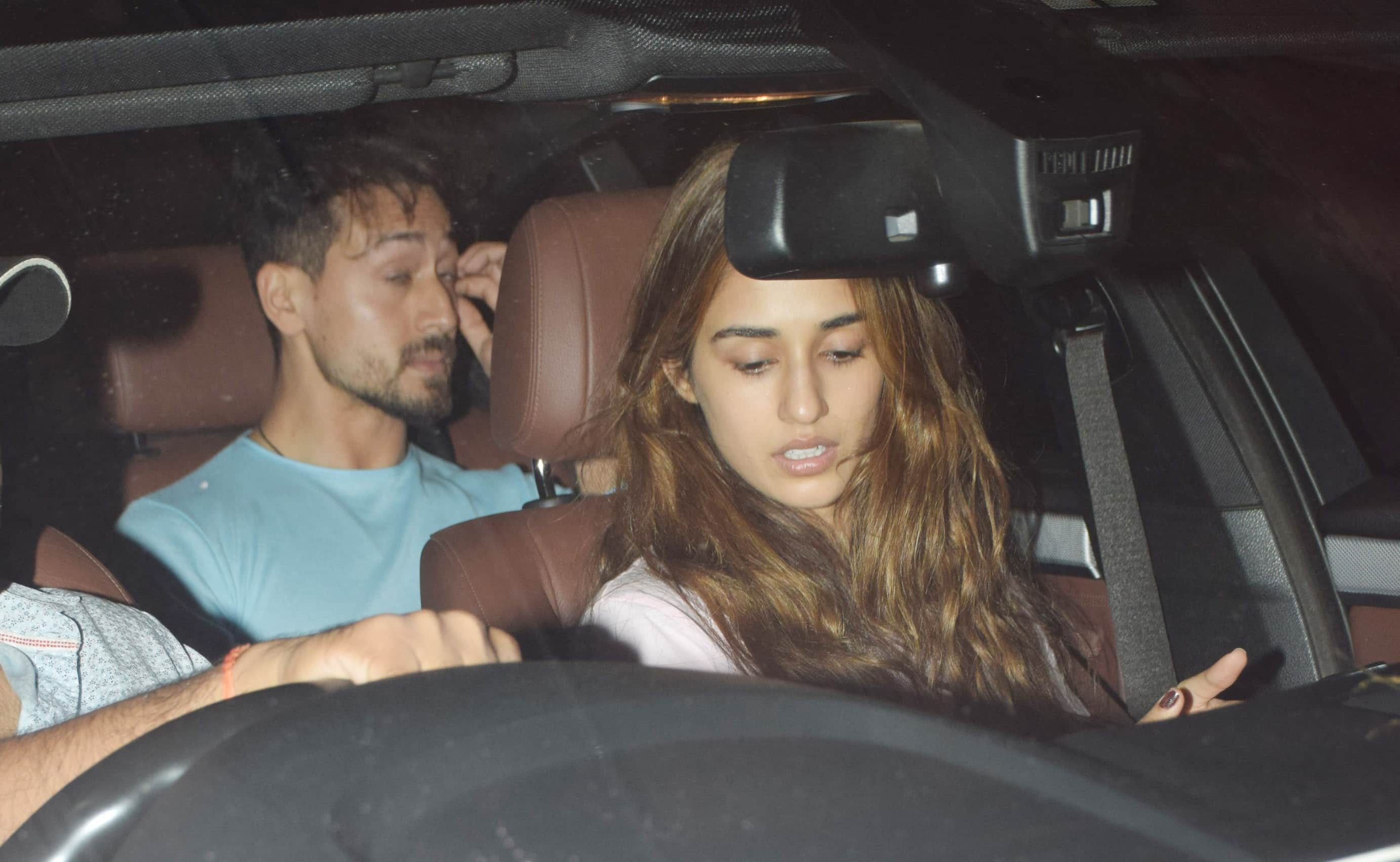 Tiger and Disha clicked together