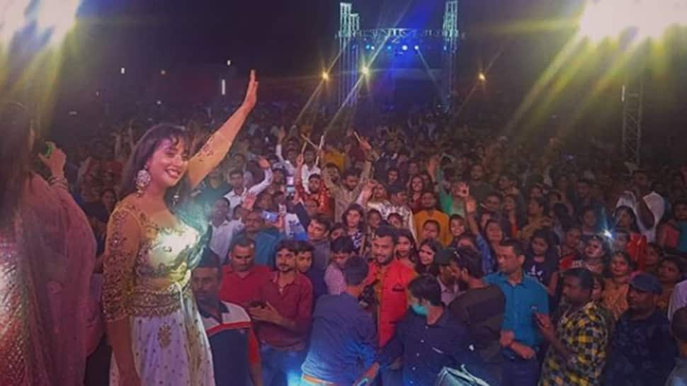 Rani Chatterjee sets the stage on fire with her dance moves on Pawan Singh's 'Hamaar Wala Dance' song—Watch