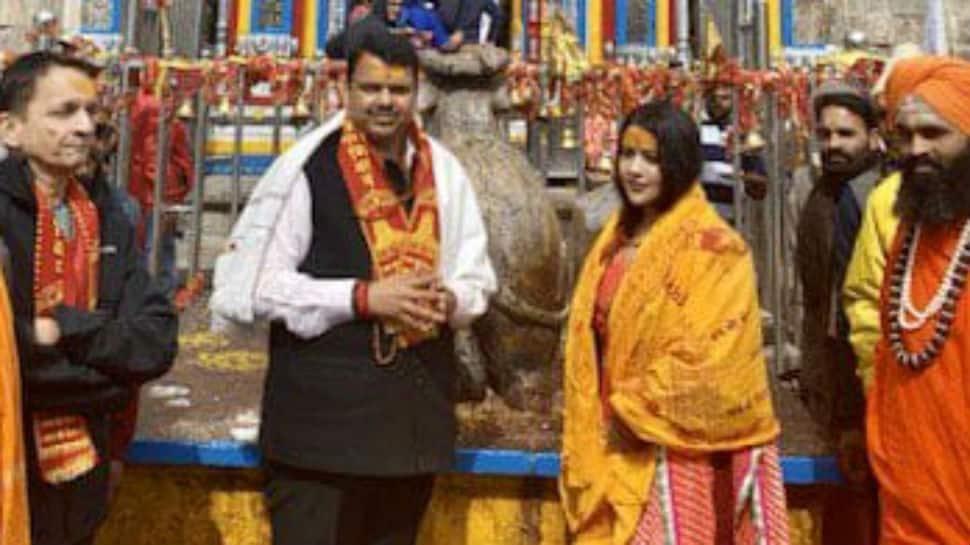 Devendra Fadnavis visits Kedarnath shrine ahead of Maharashtra Assembly election result