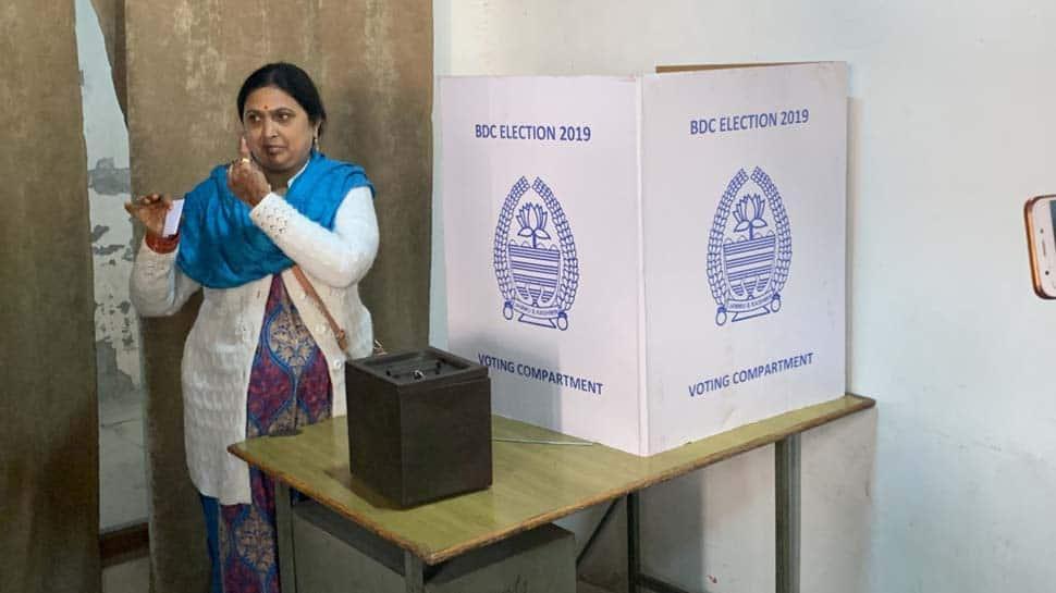 Jammu and Kashmir BDC election: BJP wins 4 seats in Kargil, all 16 in Leh
