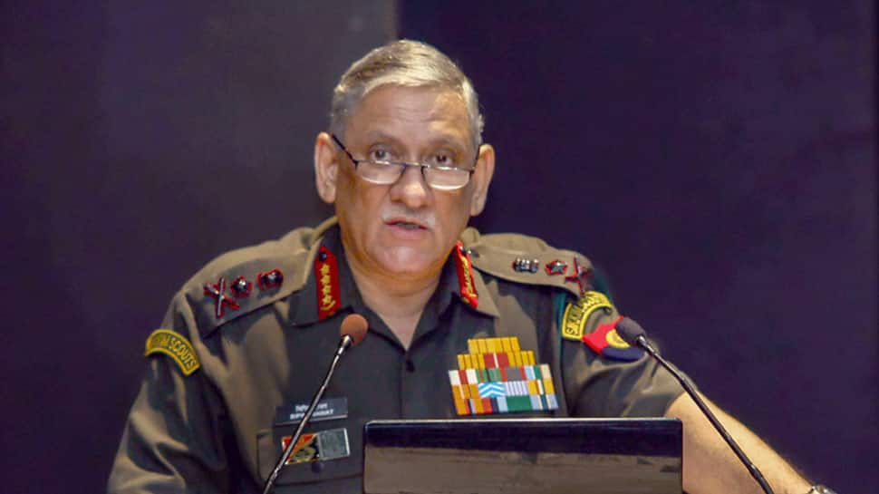 Army Chief General Bipin Rawat credits govt, former Navy Chief Admiral Sunil Lanba for restoration of officers' ration facility