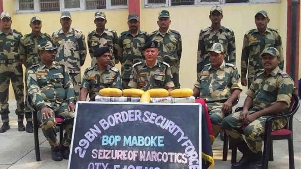 BSF seizes 5 packets of suspected heroin from Indo-Pak border near Ferozepur sector