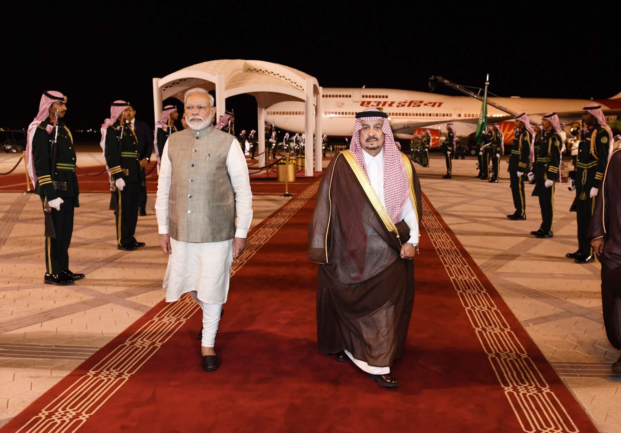India and Saudi Arabia share similar security concerns in neighbourhood, says PM Narendra Modi