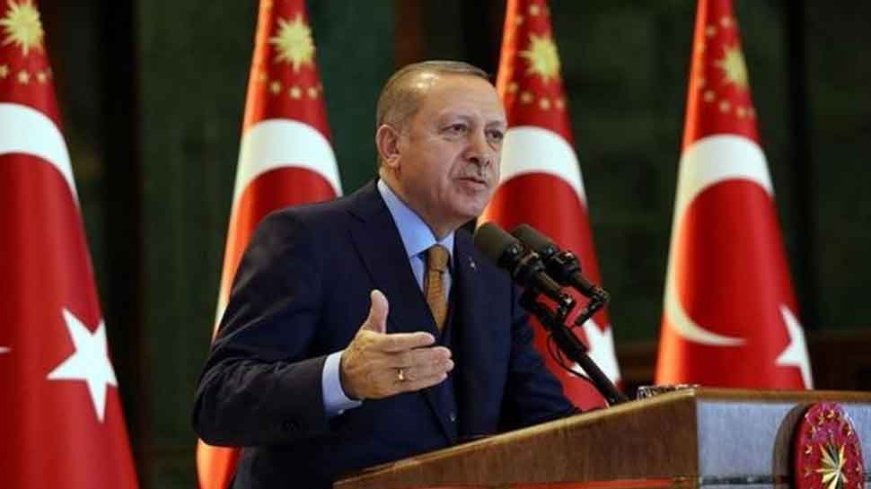 Russia has told Turkey that Kurdish fighters have withdrawn from north Syria: President Erdogan