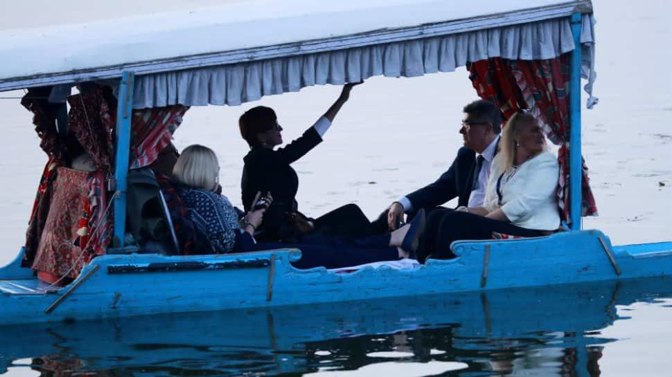 On Kashmir visit, EU parliamentarians meet top army commanders, take boat ride in Dal Lake